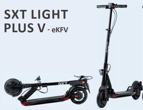 Scooter SXT-LIGHT PLUS V, diverse Farben